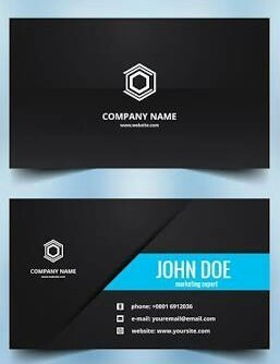 Multicolor Cdr Or Jpeg Digital Visiting Card Printing