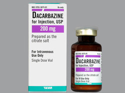Dacarbazine Injection, 200 Mg, Prescription