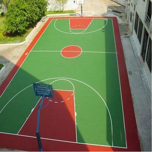 Basketball Court Construction Synthetic Basketball