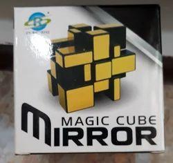 Gold Magic Mirror Cube, Size/Dimension: Reguler