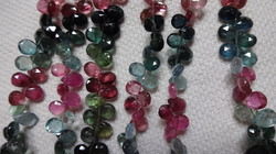 Tourmaline Faceted Pear Shape Stone