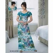 Cotton Ladies Night Dress 5ce391f41