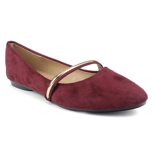 e2df0a77330 Flat Heel Red Belly Sandal