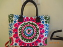 Cotton Suzani Embroidered Tote Bag