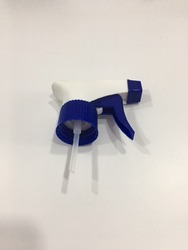 White and Blue Trigger Sprayer
