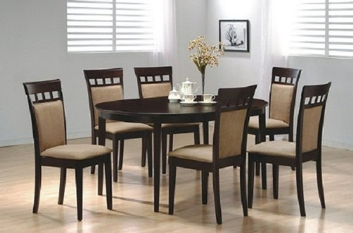 Attractive Wooden Dining Chair Set