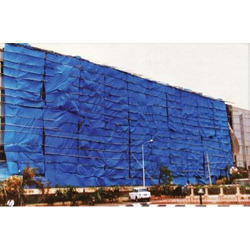 Bhagyoday Polyethylene (HDPE) Construction Site Poly Tarpaulin, Thickness: 200 Gsm, Size: Standard