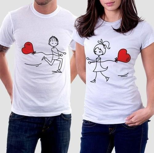 dc42dae9af Printed Pure Cotton Couple T Shirts, Rs 127 /piece, Precious ...
