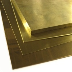 Polished Brass Sheets, For Industrial, 2-4 Mm