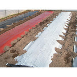 Black and Silver Mulch Film