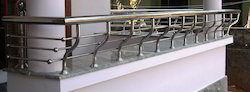 1 ft High Stainless Steel Designer Handrails