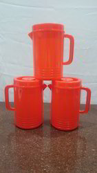 Red Plastic Water Jug, Size: 1 Litre