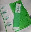 Semi slub cotton fancy choli petch wid fancy dupatta work