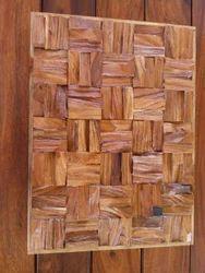 Raw Wood 3D Wall Panel 003, Size: 28 x 600 x 1200 mm