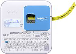 Ethernet ABS Plastic Casio KL G2 Label Printer, Tze Tape