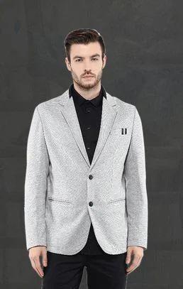 bb4ee9a00c542 Light Grey Blazer
