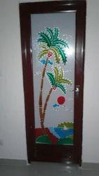 Wooden PVC Door, Size/dimension: Oem
