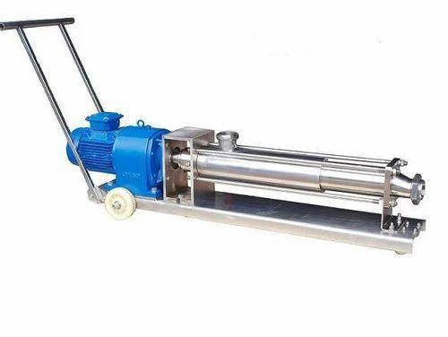 Horizontal SS Screw Pump, Model Name/Number: ARP205.7