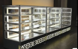 Acrylic Bakery Display Counter