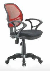 Revolving Mesh Staff Chairs