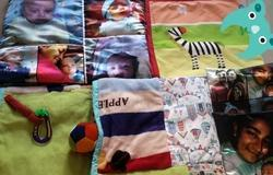 Personalized New Born Quilt