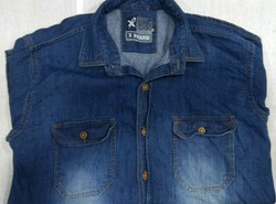 Mens Cotton Collar Neck Shirt, Size: S - XXL