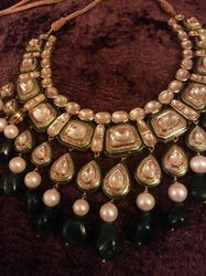 Jadau Polki Diamond Necklace