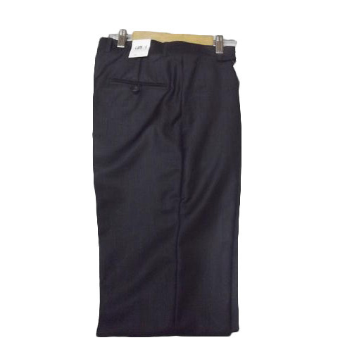 Mens Cotton Black Formal Pants