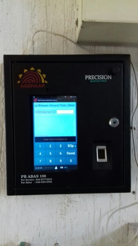 Abas 100 Attendance Precision Biometric