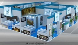 Designing Exhibition Stall Design Service, For Trade Fair, Pan India