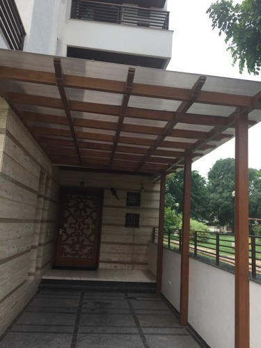 Polycarbonate Sheet Car Shed at Rs 210 /square feet ...