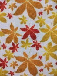 Floral print canvas