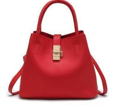 Red Ladies Shoulder Bags