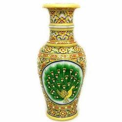 Meenakari Work Marble Flower Vase MB138