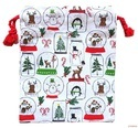 Christmas Tote Shopping Bag