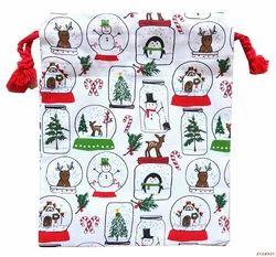 Christmas Tote Shopping Bag