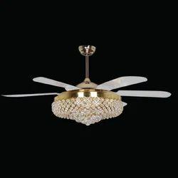 Led ceiling fan led light ceiling fan manufacturers suppliers crystal designer led ceiling fan aloadofball Gallery