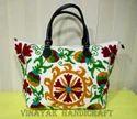 Indian Handmade Embroidered Suzani Bag