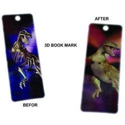 Lenticular 3D Book Mark