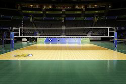 Volleyball Court Airpass Wooden Flooring