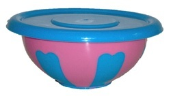 Lid Double Color Bowl