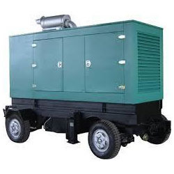 75 Dba Trolley mounted Generator Rental Services, in Pan India, 415 Volts