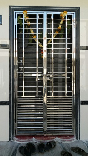 Stainless Steel Main Door Grill at Rs 350 /square feet ...