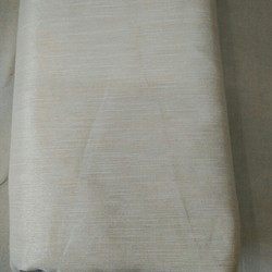 White Silk Chanderi Pure Lining