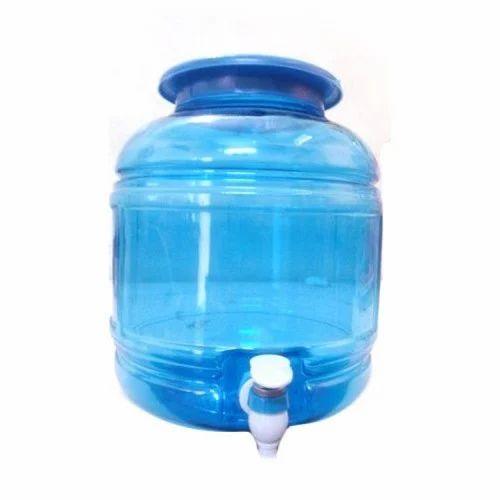 Blue Round PET Water Dispenser, Capacity: 10 Liter, Rs 90 /piece | ID:  16876017433