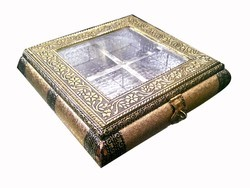 Square Wooden Dry Fruit Box