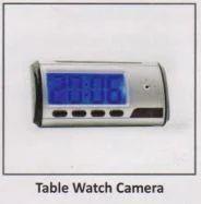 Table Clock Camera