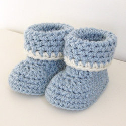 Baby Crochet Booties at Rs 300/piece(s