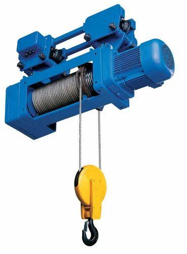 Crane Wire Rope Hoist, Cranes, Forklift & Lifting Machines