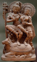 Sandstone Yugala Sculpture